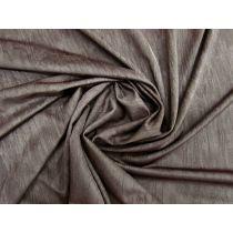 Crinkle Look Shiny Spandex- Mocha Brown #1739