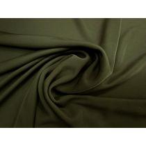 Crepe Feel Jersey- Dark Olive #1741