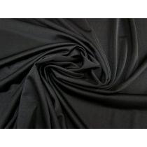 *Seconds* Slinky Jersey Lining- Black #1749