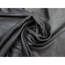 Silk Chiffon- Shadow Black #1755
