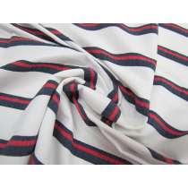 Coastline Stripe Lightweight Stretch Woven #1760