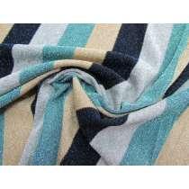 Soul Train Stripe Lurex Jersey #1769