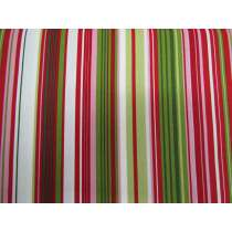 New Traditions Stripe Cotton- Red