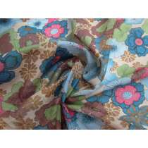 Fall Floral Fine Cotton Muslin #1796