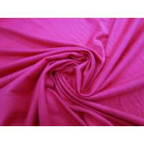 Cotton Jersey- Bright Pink #1836