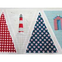 Ahoy Bunting Panel #1742