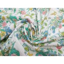 Wildflower Cotton Blend Poplin #1878