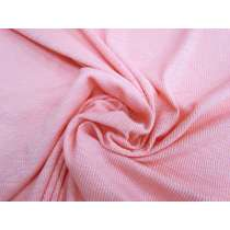 Soft Cotton Rib Knit- Sweet Pink #1892