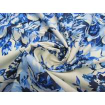 Country Bouquet Silk Cotton Voile #1950