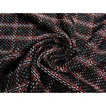 Parisian Shimmer Check Bouclé Tweed #1985
