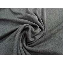 Cotton Blend 1x1 Rib- Marle Grey #2027