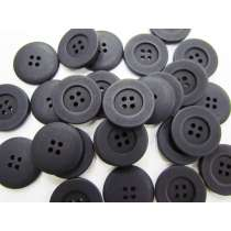 Matte Black Fashion Button #FB107