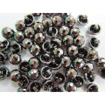 Crystal Look Fashion Button- Platinum #FB109