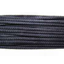 5mm Sports Drawstring Cord- Black