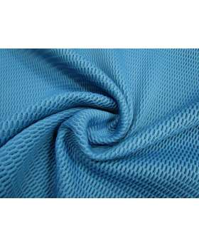 Thick 3D Fishnet Mesh- Blue #2078