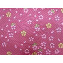 Cherry Blossom Sateen Cotton