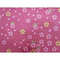 Cherry Blossom Sateen Cotton