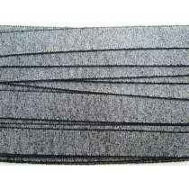 Japanese Shaggy Grosgrain Ribbon- Black
