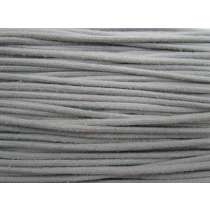 5mm Cotton Covered Nylon Cord- Grey *Seconds*