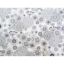 Black & White- Dahlia #11
