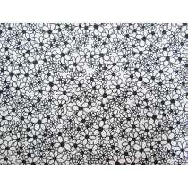 Black & White- Daisy Chain #15