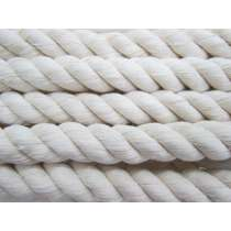 25mm Thick Twisted Cotton Cord- Natural #032