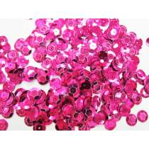 24gm Sequin Pack- Bright Pink- 10mm #019