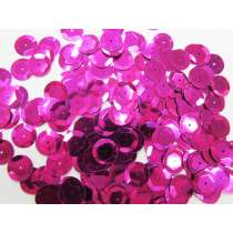 24gm Sequin Pack- Cerise- 12mm #027