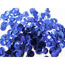 24gm Sequin Pack- Dark Blue- 8mm #031