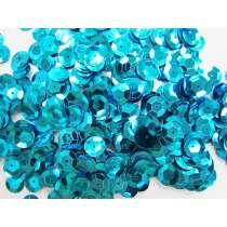 24gm Sequin Pack- Aqua- 10mm #032