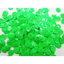 24gm Sequin Pack- Fluro Green- 10mm #040