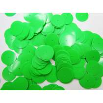 24gm Sequin Pack- Fluro Green- 20mm #041