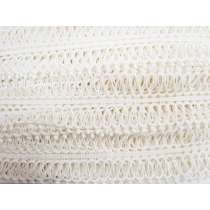 7cm Looped Lace Trim- Winter Ivory #034