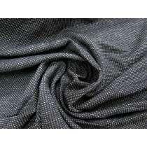 Waffle Chunky Knit- Beige / Black #2142