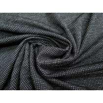 Waffle Chunky Knit- Grey/Black #2143