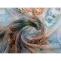 Etherial Floral Silk Chiffon Yoryu #2144