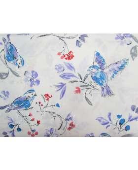 Bird Song Cotton- White