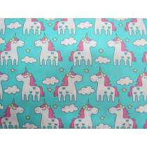 Dreamy Unicorn Cotton- Blue