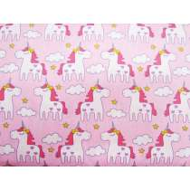 Dreamy Unicorn Cotton- Pink
