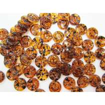 Tortoise Look Fashion Buttons FB106- 18mm