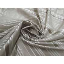 Ribbon Stripe Silk- Grey #2224