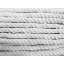 Cotton Piping Cord- White- 8mm