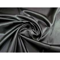 Stretch Satin- Black Cat #2304
