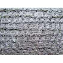 Sultan's Braid Trim- Silver #104- 20mm