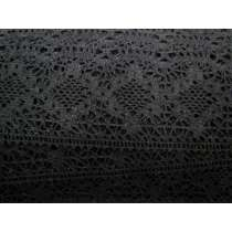 Rustic & Romantic Cotton Lace Trim- Black #121