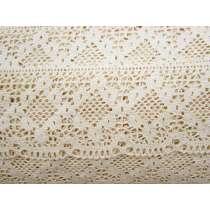 Rustic & Romantic Cotton Lace Trim- Natural #122