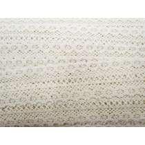 Flower Crown Cotton Lace Trim #129
