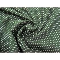 Squared Up Spot Bonded Crepe- Khaki #2359