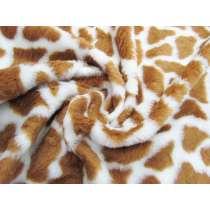 Wild Giraffe Faux Fur #2387