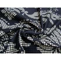 Ornate Bonded Fishnet Mesh Knit #2399